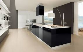 interieur cuisine moderne interieur cuisine moderne noir et blank par futura cucine plans id