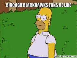Blackhawks Meme - blackhawks fans