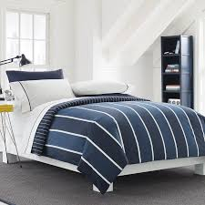 navy blue and white striped bedding navy white striped duvet cover