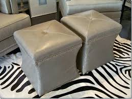 grey leather storage ottoman cube leather ottoman stunning leather cube ottoman grey faux leather