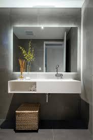 furniture unique mirror inside the bathroom that looks so cozy