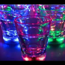 glow in the cups buy glow cups glasses led glasses led serving tray helmet