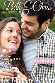 magazine wedding programs shop me magazines custom wedding programs and invites