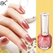 10ml glitter metal nail polish metallic mirror effect lacquer bk