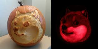 Pumpkin Carving Meme - doge pumpkin by feathergills on deviantart
