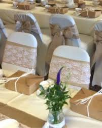 lace chair covers cover with hessian lace chair bows