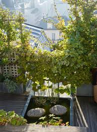 secret paris a tiny roof garden with an eiffel tower view