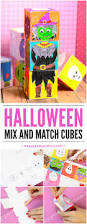 halloween mix and match cubes easy peasy and fun