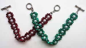 bracelet beaded images Easy beading pattern for beginners 2 beaded bracelets 1 beaded jpg