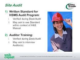 Desk Audit Definition Samuel Steel Safety Group Ppt Download