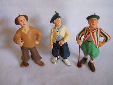 hallmark three stooges ornament golf ebay