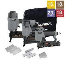 husky framing nailer home depot black friday husky finish kit with 16 gauge finish nailer 18 gauge brad nailer