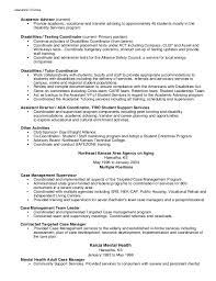Service Advisor Resume Sample by Academic Counselor Resume Template 2017 College Academic Advisor