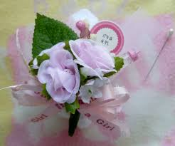 Baby Sock Corsage Baby Shower Corsage For Mom Home Design