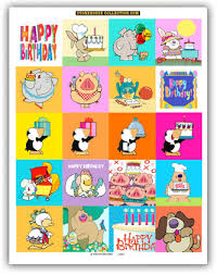 birthday stickers kids birthday stickers stonehouse collection