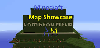 Green Bay Map Minecraft Map Showcase Lambeau Field Green Bay Packer U0027s