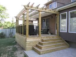 Decking Pergola Ideas by Pergola Designs For Decks Deck Craftsman With Deck Pergola Radius