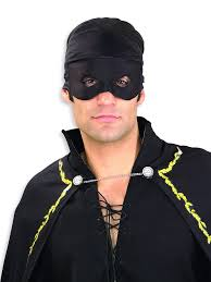 zorro bandana and eye mask halloween costumes 4u accessories