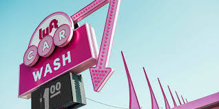 Car Washes Near Me Hiring Lyft Colorfully Took Over A Los Angeles Car Wash To Thank Its