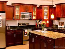 kitchen cherry kitchen cabinets with 28 marvelous dark cherry