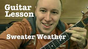 sweater weather guitar chords sweater weather guitar lesson tutorial standard chord version