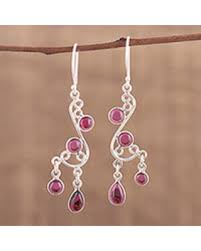 Garnet Chandelier Earrings Find The Best Deals On Garnet Chandelier Earrings Windy