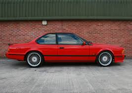 bmw 6 series for sale uk 1989 bmw 635csi highline motorsport the best available sold on