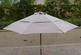 Patio Umbrella 11 Ft Vented Replacement Umbrella Canopy For 11ft 8 Ribs Market Patio
