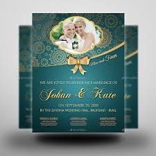 wedding flyer wedding flyer template vol 2 by owpictures graphicriver