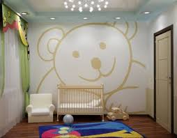dessin chambre bébé dessin mural chambre adulte idées décoration intérieure