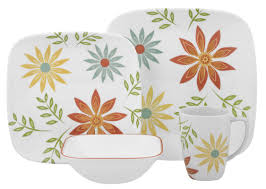 thanksgiving china sets corelle happy days 16 piece dinnerware set service for 4