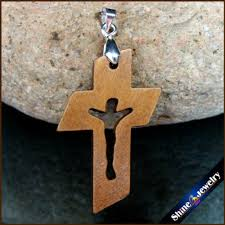 carved wooden crosses 50 pcs new small wooden crosses carved jesus crucifix cross charm