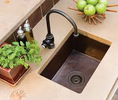 kitchen inspiring vintage decoration use copper kitchen sink