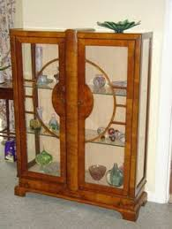 art deco china cabinet art deco style china cabinet give the make over we spray paint