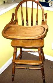 Antique Wooden High Chair July 24th U2013 Antique U0026 Estate Auction Ken Passmore Antique