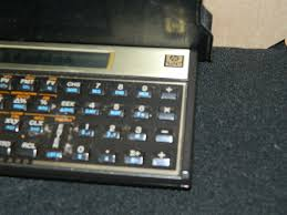 hp 12c gold financial calculator rare hewlett packard works great