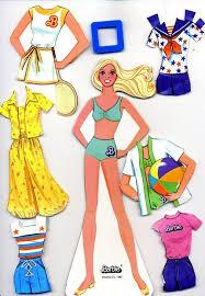 657 paper dolls barbie images barbie paper