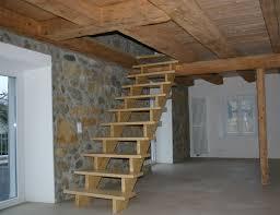 aufgesattelte treppen holzbau buehlmann treppen