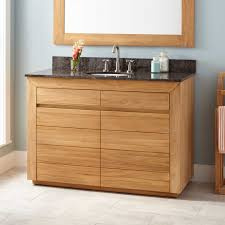 Teak Vanity Bathroom by 48
