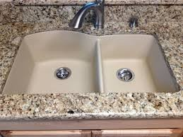 black granite composite sink the pros and cons of different sinks youtube elegant granite