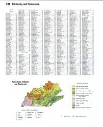 Map Of Kentucky Counties Kentucky Topographic Mapfree Maps Of North America