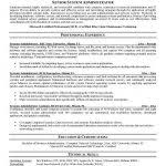 System Administrator Resume Template System Administrator Resume Template Systems Administrator Resume