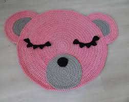 Kids Animal Rugs Crochet Animal Rug Etsy