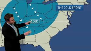 us weather map cold fronts meteorologist davidson explains weather maps