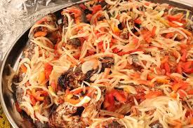 cuisine ivoirienne en file cuisine de côte d ivoire du machoiron braisé jpg