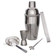 portable cocktail set ksp mixy cocktail shaker set of 5 stainless steel kitchen
