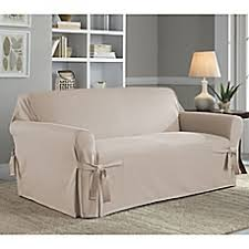 Seat Covers For Sofas Loveseat Slipcovers Furniture Covers U0026 Throws Bed Bath U0026 Beyond