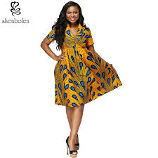 Batik Anakara 2017 clothes v neck ankara wax printing fabric batik