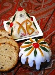 cuisine traditionnelle russe recette de paskha dessert de pâques orthodoxe en russie