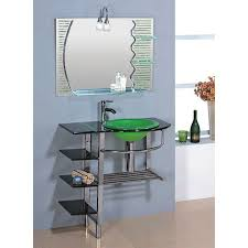 shop kokols usa green drop in single sink bathroom vanity with